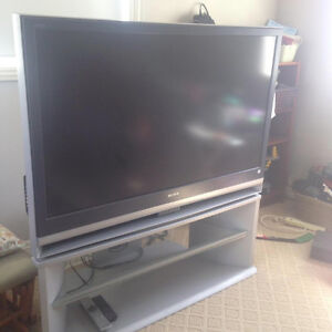 TV & Stand for sale! Best offer! Must go!