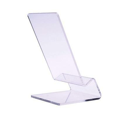 Clear Acrylic Mobile Phone Display Stand Mount Holder Rack Bracket Show - Clear Mobile Phone Display