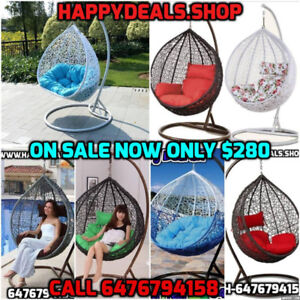 Super sale Swing chairs starting $230,+No tax