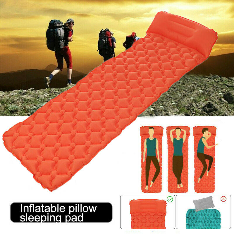 Outdoor Camping Self Inflating Mat Sleeping Pad Hiking Air M