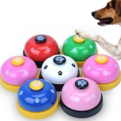 Cat Call Bell Dog Feeding Ringer Pet Educational IQ Training Toy Eating Food S3
