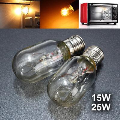 (E12 E14 Oven Lamps Cooker Heat Resistant Light Bulb 15W/25W 120V/220V CA)