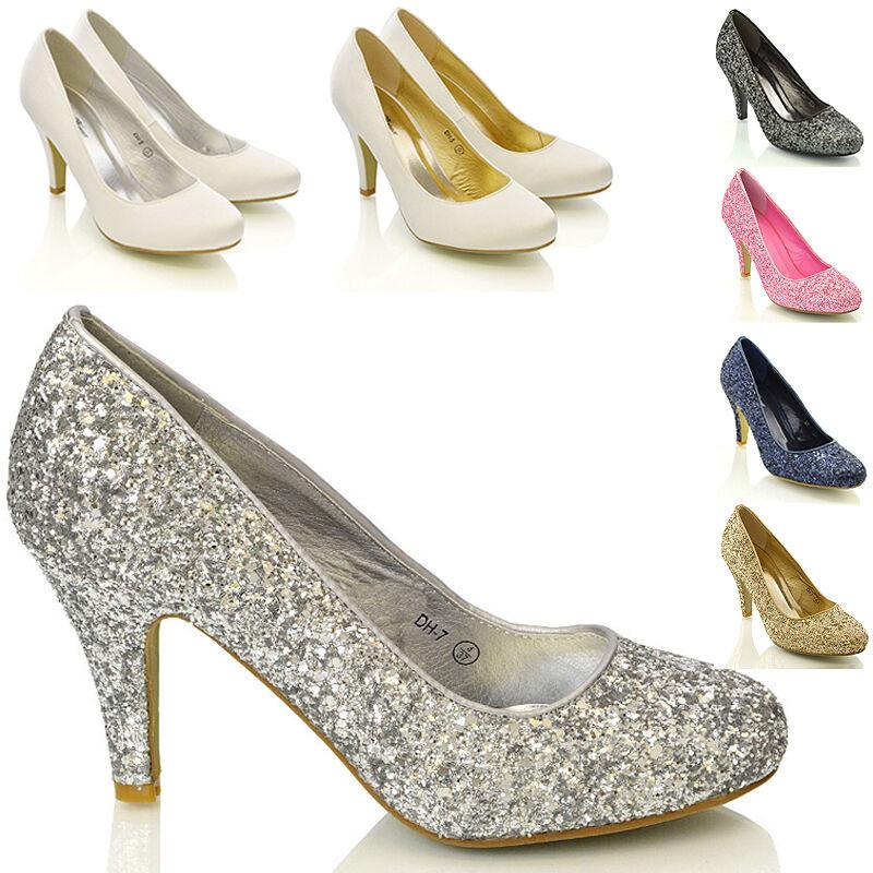 Irregular Choice Festive White Womens Ladies Wedding Bridal Shoes Size 4-8