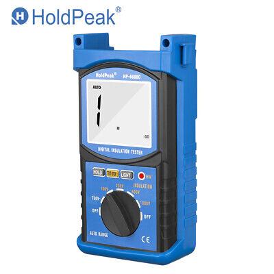 Digital Insulation Resistance Tester 200 Ohmmeter Auto Range 5000v Megohmmeter