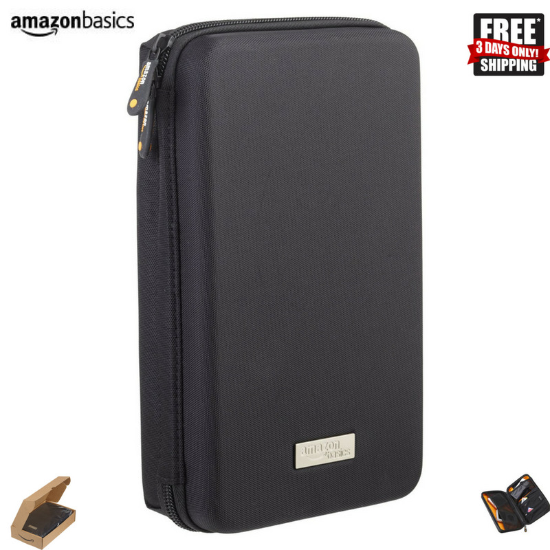 Amazonbasics Universal Travel Case For Small Electronics & Accessories, Black 6