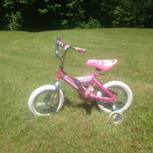 "Girls' 12"" Lil Dreamer Supercycle BMX-style bike"
