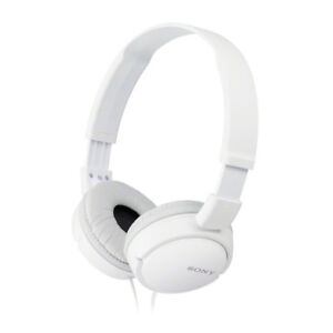 Sony MDR-ZX110 over ear headphones - new in box - white colour