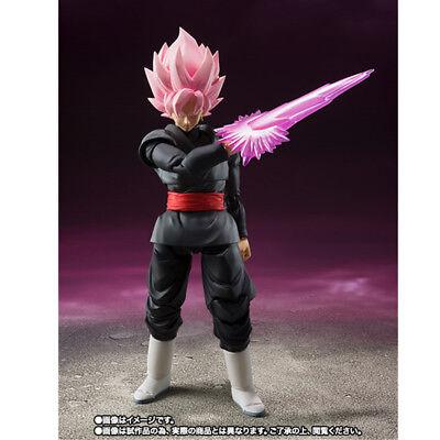 SHF S.H.Figuarts Dragon Ball Z Super Saiyan Goku Black Gokou Zamasu Pink Figure