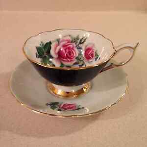 BUYING VINTAGE TEA CUPS & SAUCERS..PARAGON..SHELLEY..AYNSLEY