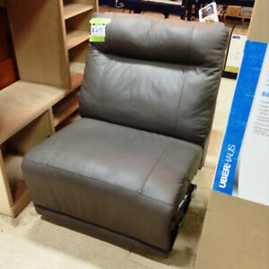 Brand New Reclining Leather Sectional Sofa Segment