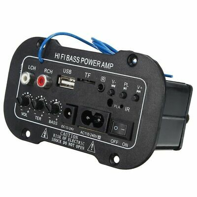 Bluetooth Amplifier For Cars Board Audio Amplificador Usb Dac Fm Radio Tf Player segunda mano  Embacar hacia Mexico