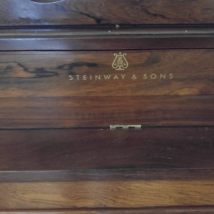 RARE Antique Steinway & Sons piano Upright 150 years