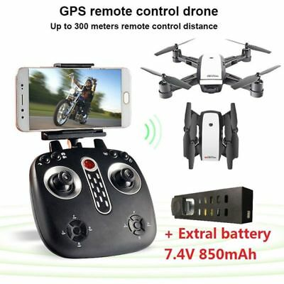 LH-X28GWF Dual GPS FPV Drone Quadcopter with 1080P HD Camera Wifi Headless Mode