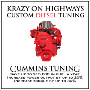 Krazy On Highways Cummins DPF, EGR & UREA Delete Tuning