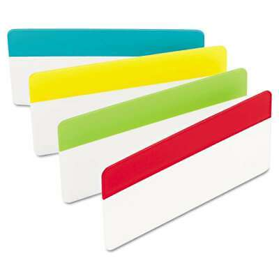 Post-it Tabs File Tabs 3 X 1 12 Solid Aqualimeredyellow 051141932637
