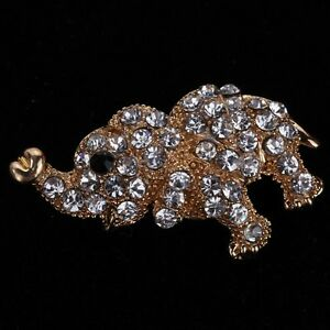 Ange de crystal broche rhinestone pour mariage