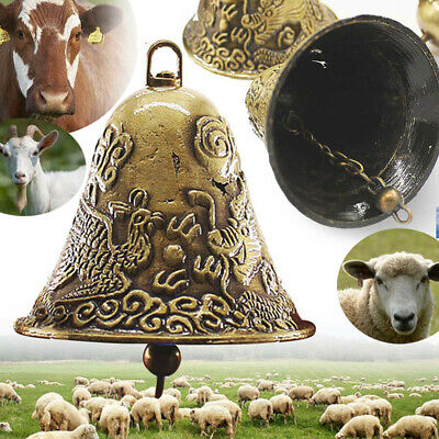 Cow Horse Sheep Grazing Copper Bells Loud Cowbell Cattle Sheep Bells Animal