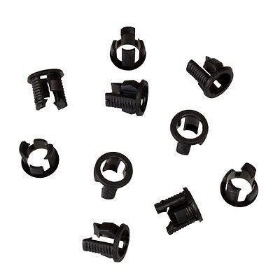 Ledclips / Montageringe für 3 & 5 mm Leds, Clip Clips Led-Fassung Halterung ()