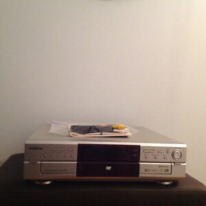 DVD player - 5 disc capability
