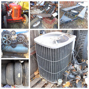OUTDOOR CENTRAL HOME AIR CONDITIONER EXTRA LARGE, WE DELIVER