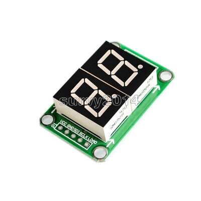 74hc595 2bit 2-digit Led Nixie Tube Display Module Applied 3.3v-5v Digital Tube