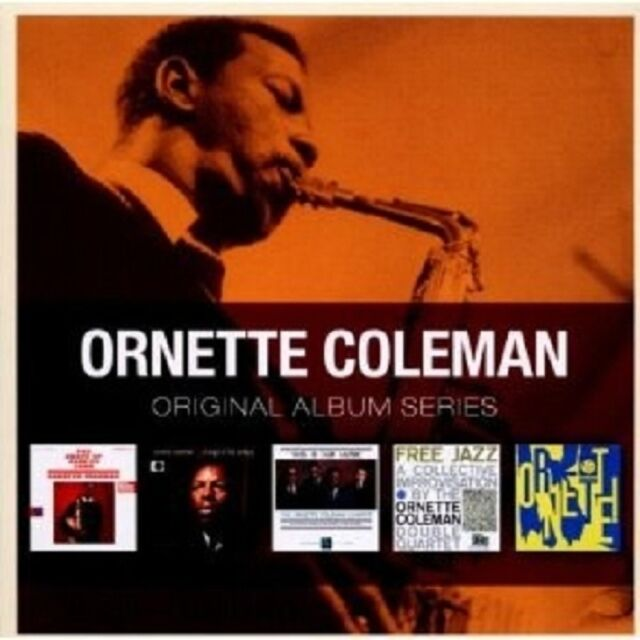 COLEMAN,ORNETTE - ORIGINAL ALBUM SERIES 5 CD NEUWARE
