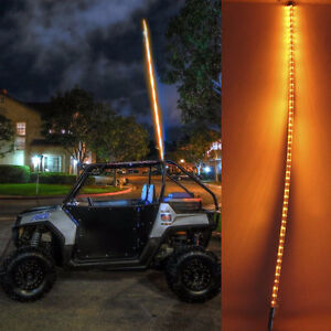 "67"" led whip light flagpole UTV, ATV, Truck, snowplow offroad"