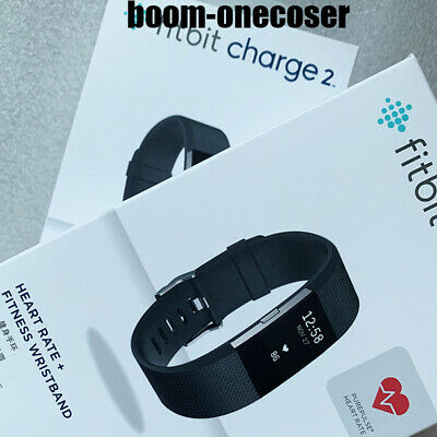 New Fitbit Charge 2 Heart Rate Monitor Activity Tracker Fitness Wristband