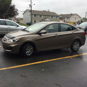 2013 Hyundai Accent Berline, 12,526 Km. Seulement