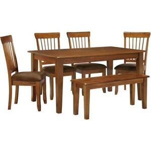 Ashley Furniture D199 6 pc Dining Set - Up To 50% Off Your Local Retailer Prices!