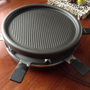 T-Fal electric grill with individual grilling trays