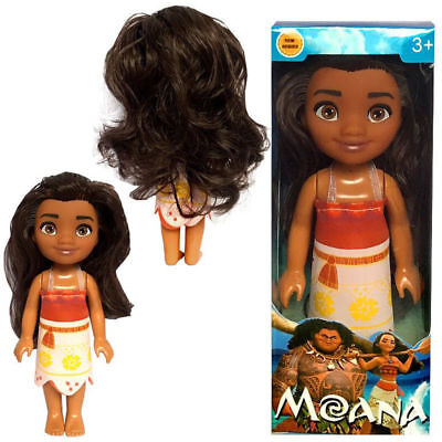16cm  Moana Princess Adventure Collection Action Figure Doll for Kids Toys