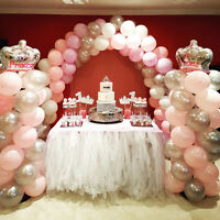 Birthday party backdrop balloon decor decoration cake dessert