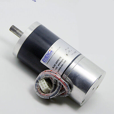 Brushless Motor Bldc-50srz-fs Fixed Speed Internal Drive Dc 12v 24v 3 Wire