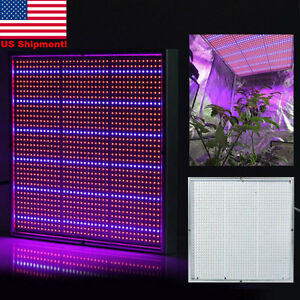 Full Spectrum 1365 LED Grow Light Panel Greenhouse Indoor Garden Plant Lamp US