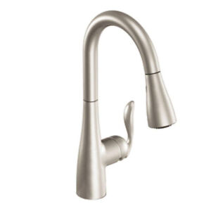 Moen 5995SRS Arbor High Arc Pull Down Kitchen Faucet (Brand New)