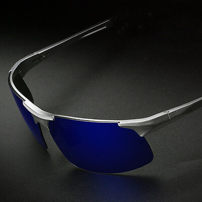 - Aluminum Magnesium Alloy Frame Polarized Sunglasses Men's Driver Pilot Glasses