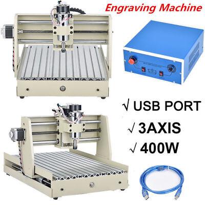 Cnc Router 3040 Diy 3-axis Engraver Engraving Milling Machine Desktopusb