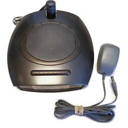 Homedics SoundSpa Alarm Clock Radio Nature Sounds Time Projection SS-4510
