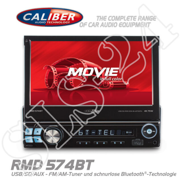 "Caliber RMD574BT CAR Bluetooth Autoradio Radio USB SD Tuner MP3 7"" Touch Screen"