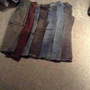 lot de vêtements garcon 10 ans ( 94 morceaux ++)