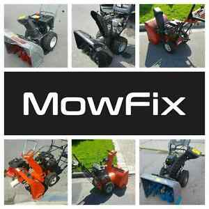 Snowblower Services • Lawn Mower Repairs • Small Engine Mechanic