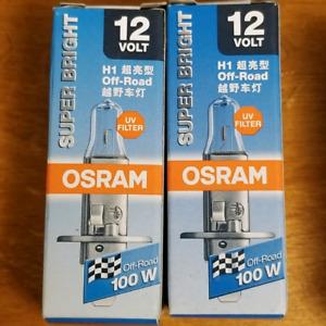 New Osram halogen bulbs 55watts and 100watts