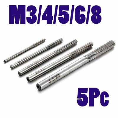 6 Flutes M3 M4 M5 M6 M8 Hand Reamer Set Metric H8 Milling Cutter Supplies Tools