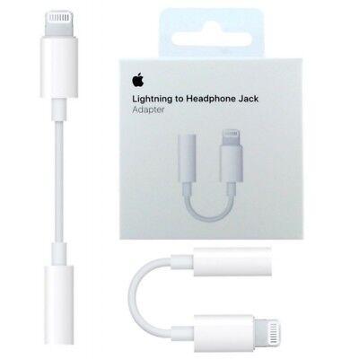 Adaptador APPLE ORIGINAL Lightning A Jack 3.5 Mm Apple Original ENVIO 24/48H