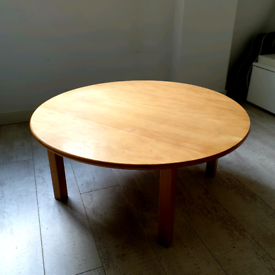 Large, children's circular table £15 ono