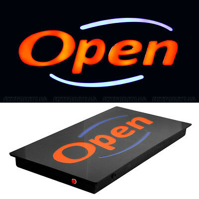 Led Neon Open Business Sign Bright Animated Motion Display Board Shop Cafe Bar