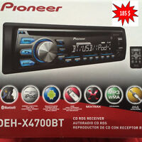 Pioneer ,  bluetooth  USB, AUX IPOD, IPHONE ...,Garante un ans