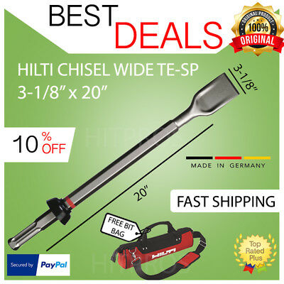 Hilti Chisel Wide Te Sp 3 18 X 20 New For Te 905 10001500 Fast Ship