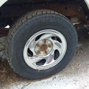 4-225-75-16 with 5bolt rims or without rims Terra Tarc mud-snow